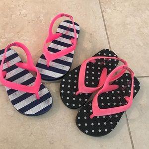 Pair of Old navy Sandles flip flops